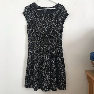 Dotted dress by H&M.